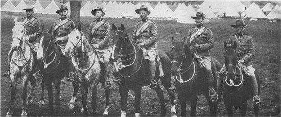 Sergeants of D Squadron